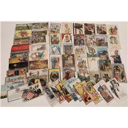Patriotic Themed Postcards  (125455)