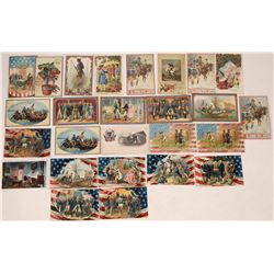 Tuck's George Washington Themed Postcards  (125691)