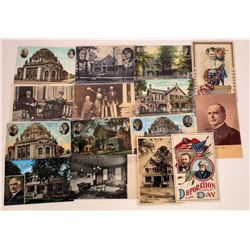 Grant McKinley & Harding Postcards  (125963)