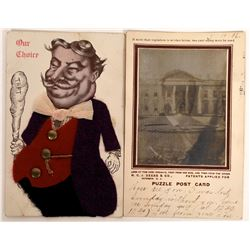 Taft and White House Specialty Postcards (2)  (127325)