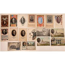 Taft for President RPCs and Litho Postcards (17)  (127328)
