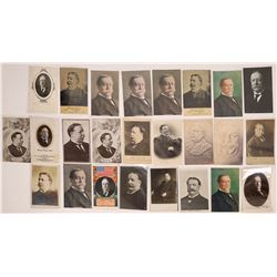 Taft Portraits Postcards (25)  (120326)