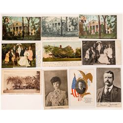 Teddy Roosevelt Postcard Collection (10)  (118689)