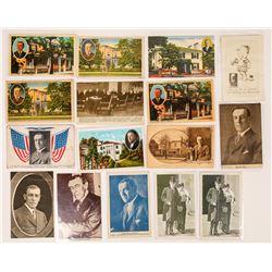 Woodrow Wilson Postcard Group (16)  (118694)