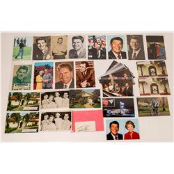 Nixon and Reagan Postcard Group (35)  (118700)