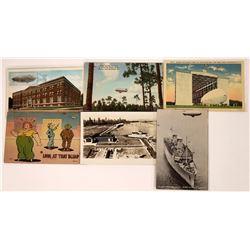 Various U.S. Blimp Postcards  (125283)