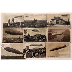 Zeppelin Postcards  (125275)