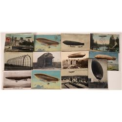 French Blimps and Zeppelin Post Cards  (125287)