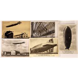 Hindenburg Zeppelin LZ-129 Post cards  (125279)