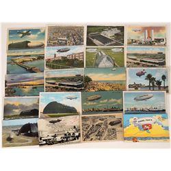 Goodyear Blimp Postcards  (125284)