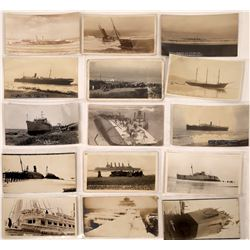 Ships Wrecked and Aground Postcards - 15  (126816)