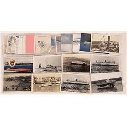 Assorted Boats & Ship Postcards  (126519)