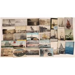 Sailboats, Schooners, and Tall Ships Postcards ~ 29  (126890)