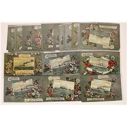"""Great White Fleet"" Postcard Convoy  (126518)"