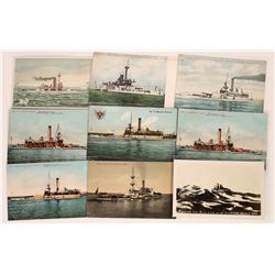 Postcards Featuring U.S. Monitor Warships  (125477)
