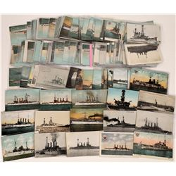 Postcards of U.S. Battleships  (125619)