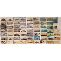 US Navy Postcards - 100+  (126208)