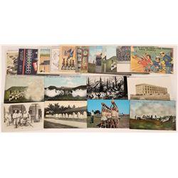 U.S. Marine Themed Postcards  (125476)