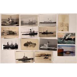 Tug Boat Postcards - 14  (126815)