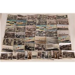 HMS Queen Elizabeth RPC's & Postcards  (126520)