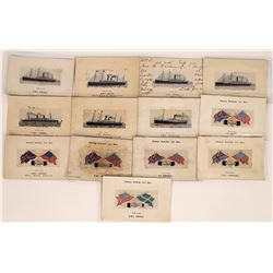 Ships of the British Ships Postcards  (126526)
