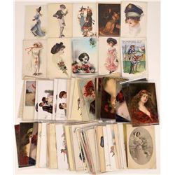 Artist Postcard Collection  (126452)