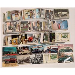 Postcards of Automobile Ads in America  (125623)