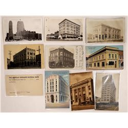 Banks Various Cities U.S. Postcards (10)  (125732)