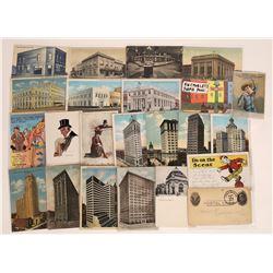 National Bank Postcards and Ephemera ~ 23 pcs  (126888)