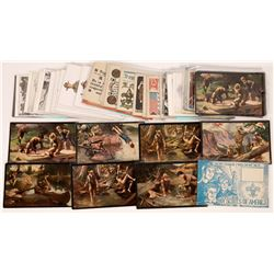 Boy Scout Art Postcards  (126464)