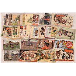 Humorous Boy Scout Postcards  (125464)