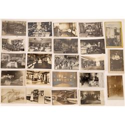 Business Interiors Real Photo Postcard Collection  (126610)