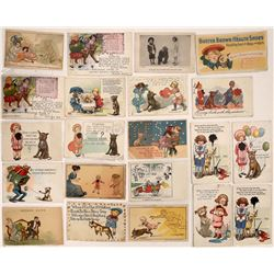 Buster Brown Postcards - 22  (126201)