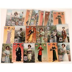 Daughters of the States Litho Postcards-40  (126488)