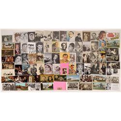 85 Celebrity Postcards  (126809)