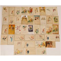 Group of 40 Kewpie Doll Postcards by O'Neill  (118696)