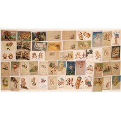 Kewpie Doll Postcards ~50  (125867)