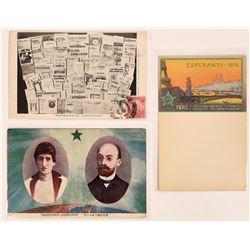 Esperanto RPC and Litho Postcards (3)  (125744)