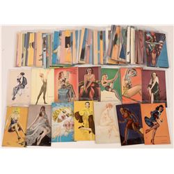 Pin-Up Vintage Postcard Collection  (126574)