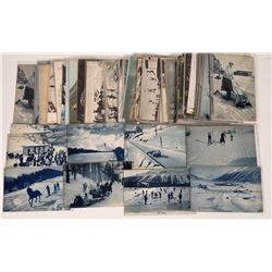 Collection OF Postcards Of Winter Sports Lucerne  (125488)