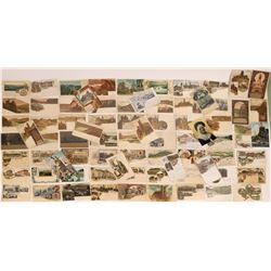 Germany Pioneer Postcards Historical Color Art (74)  (127300)