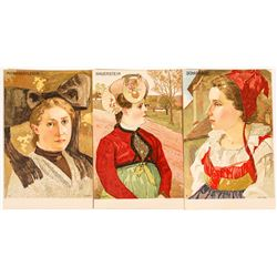 Three Bumler Art Cards from Germany  (118679)