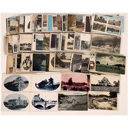 Japan Postcards, B&W & Color - ~198  (126892)