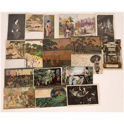 Japanese Art Postcards - 19  (126886)
