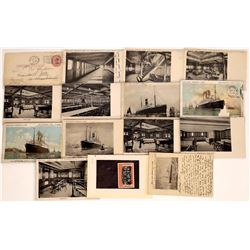 RPC's & Postcards From Holland America   (126524)