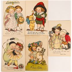 Tuck Art Cards by Unknown Artists (5)  (118685)
