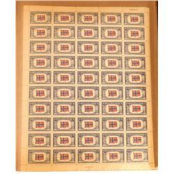 Gimbels Mint Sheet Album - Filled  (122312)