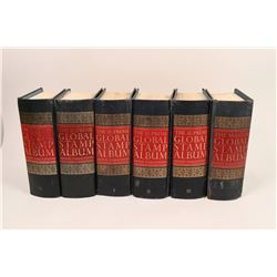 Five Stamp Collector Book Volumes  (121519)