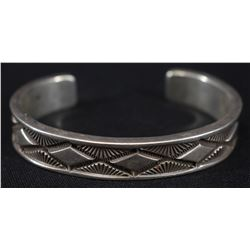 NAVAJO INDIAN BRACELET (BILL EMERSON)