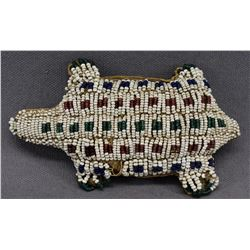 SIOUX INDIAN BEADED FETISH